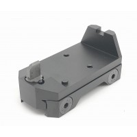 RGW UKON style RMR mount with iron sights