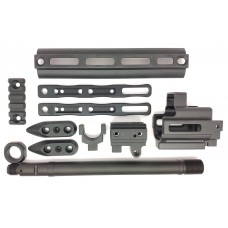 RGW M-LOK Front set for WE GBB SCAR (Black)