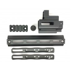 RGW M-LOK Front set for TM AEG SCAR (Black)